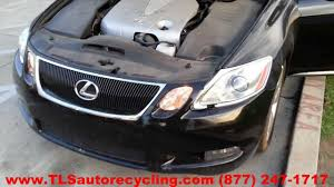 parting out 2007 lexus gs 350 stock 3120gy tls auto recycling