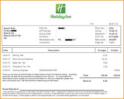 hotel receipt template exol gbabogados co