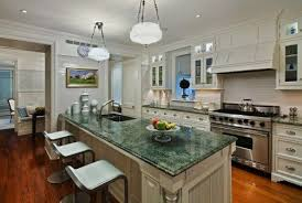 white kitchen cabinets with green countertops the best paint colours to update forest green m