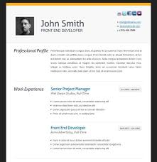 Free Resume Builder And Download Best Resume Templates For 2017 413 Downloadable Examples With
