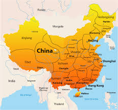 map of china asia map china major tourist attractions maps
