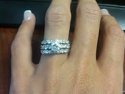 2 wedding rings 2 wedding bands how to wear your wedding ring mindyourbiz zales