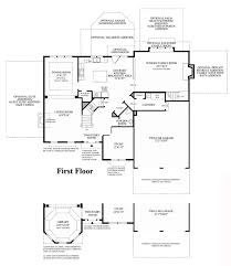 Spanish Floor Plans Home Designs Nice Home Architecture Ideas By Toll Brothers Floor