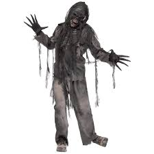 halloween zombie costume burnt zombie costume for adults buycostumes com