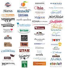 Montana Travel Logos images The 50 us state logos typography jpg