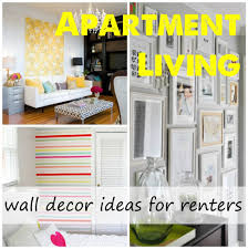 lovely apartment wall decor ideas with decorating ideas for