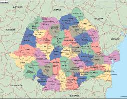 Romania Map Romania Political Map Illustrator Vector Eps Maps Order And