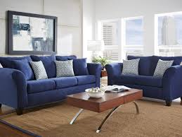 sofa 17 lovely navy blue living room decorating ideas 2