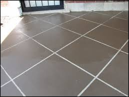 How To Paint Outdoor Concrete Patio New U201ctile U201d Patio Floor Reveal Beneath My Heart