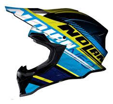 rockstar motocross helmet nolan mx 53 motocross mx helmet flaxy yellow blue black