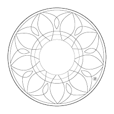 simple mandala coloring pages u2013 barriee