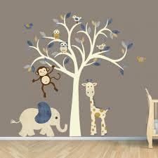 adorable giraffe animal nursery wall decal height chart wall