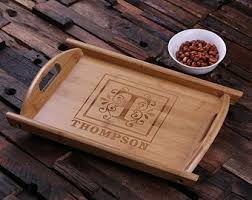 personalized serving tray personalized wood serving tray decorative serving tray