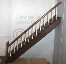 Banister Rail 9 How To Make Dollhouse Staicase
