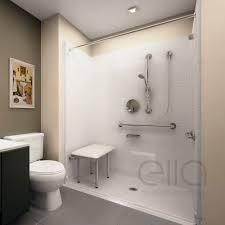 barrier free ada shower kits ella s bubbles