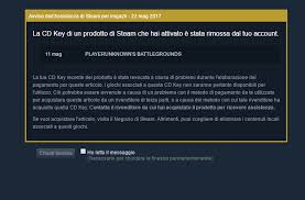 pubg steam key removed revoked from my steam account general help