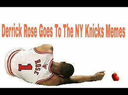 Ny Memes - derrick rose goes to the ny knicks memes youtube