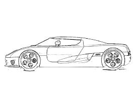 coloriage voiture les beaux dessins de transport à imprimer et