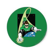 green lantern stickers zazzle