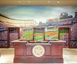 wall ideas baseball player mural baseball stadium wall mural kit the texas rangers lobby tells you they are in the baseball business baseball stadium wall murals baseball wall mural ideas baseball wall mural decal