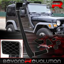 jeep yj snorkel off road snorkel ram air intake system for the jeep wrangler tj yj