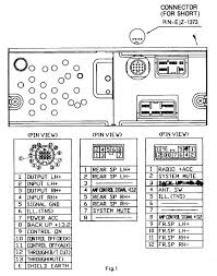 mazda radio wiring diagrams mazda wiring diagrams instruction