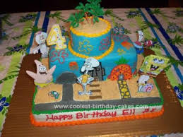 spongebob cake ideas spongebob squarepants birthday cake ideas coolest spongebob birthday