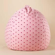 kids u0027 beanbags u0026 floor cushions kids pink polka dot beanbags