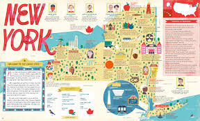 New York Map State by The 50 States Explore The U S A With 50 Fact Filled Maps