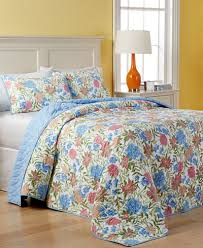 martha stewart collection gramercy garden reversible quilted