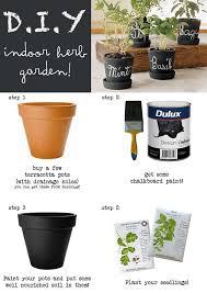 diy indoor herb gardens the garden glove