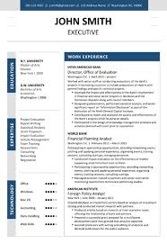 Finance Executive Resume Samples by Executive Resume Template Cover Letter Portfolio