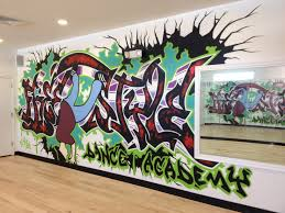 Dance Wall Murals Adding To Our Style At Freestyle Dance Academy Freestyle Dance
