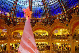 christmas 2016 at galeries lafayette haussmann french moments