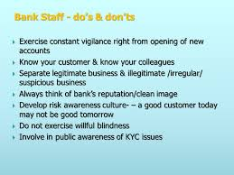Willful Blindness Aml Topics Banker Customer Relations Types Of Customer Kyc