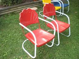 Patio Lawn Chairs 74 Best Vintage Metal Lawn Chair Love Images On Pinterest Metal