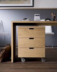 caisson bureau bois caisson de bureau en bois à 3 tiroirs à roulettes 50620