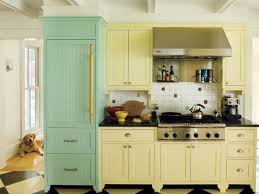 how to freshen up stained kitchen cabinets 12 kitchen cabinet color ideas two tone combinations this