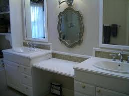 glass tile backsplash in bathroom bathrooms design designs