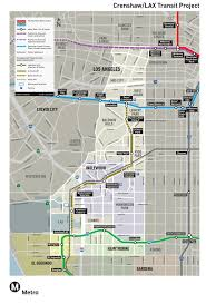 Metro Expo Line Map by Economic Development Work Group