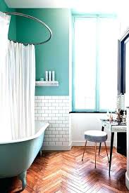 Teal Bathroom Ideas Turquoise And Coral Bathroom Contemporary Bathroom By E Brown