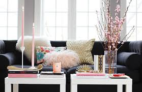 Living Room Tables Ikea How To Style A Coffee Table The Everygirl