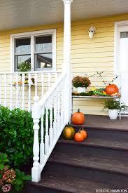 Esszimmer Herbstlich Dekorieren Kürbisse Auf Meiner Veranda Schon Richtig Herbstlich
