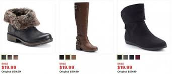 womens boots at kohls kohl s s boots as low as 14 99 pair