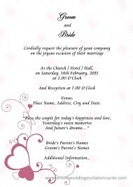 invitation for marriage new what to write in a wedding invitation or 53 can you handwrite