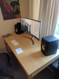 Desk Setup 495 Best Desk Set Up Images On Pinterest Desk Set Desk Setup