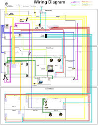 Electrical Floor Plan Electrical Wiring Diagrams Also Residential Carlplant