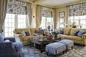 Blue And Yellow Home Decor by French Country Blue And Yellow Decor Living Room Traditional With