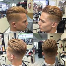 hair cut back of hair shorter than front of hair 14 trendy short sides long top hairstyles