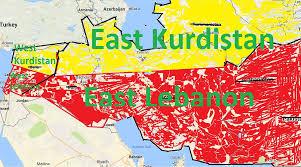 Kurdistan Map Joumana Gebara On Twitter